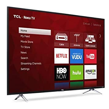 Amazon Com Big Screen Tv Roku Smart Led Tv Large Screen 55 Class