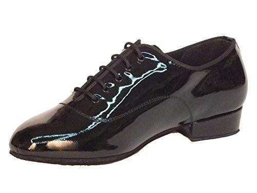 Vitiello Dance Shoes Classic vernice standard 05 VERN T20 - Zapatillas de danza de Piel para niño Negro negro Nero Lucido