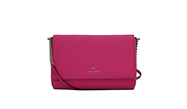 549176cc196 Amazon.com  Kate Spade Charlotte Street Alek Crossbody Bag Pink  Shoes