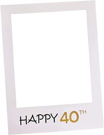 Joyeux 40th Anniversaire /'Cadre Photo