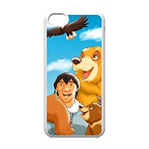 Brother Bear iPhone 5c Cell Phone Case White Decoration pjz003-3751350