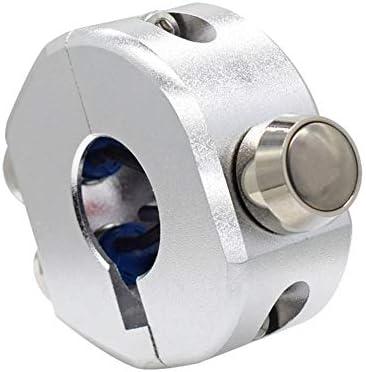 JPLJJ 22mm 25mm オートバイ スイッチ ハンドルバー マウントスイッチ ヘッドライト フォグライトON OFF スタートキルホーンリ セット ボタン (色 : 25mm)