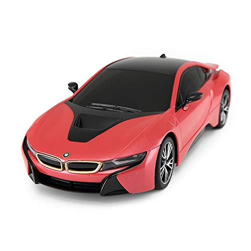 (Ycco Concept BMW i8 Remote Control Cars for Kids - Playtech Logic PL615 Licensed 1:24 Scale Model Electric Radio Controlled BMW RC Car Toys - Boys Girls Gifts - RTR)