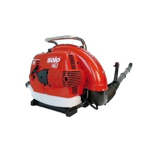 Solo 467 2-Stroke Gas Powered Commercial Grade Backpack Blower with Catalytic Converter