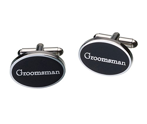 (Lillian Rose Groomsman Cufflinks Wedding Party Accessories Gift)