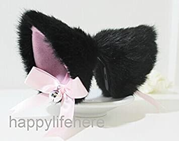 Kids Costumes & Accessories 1 Pair Hot New Sweet Funny 6 Colors Bell Cat Ears Hair Clip Cosplay Anime Costume Halloween Birthday Party Hair Accessories Clip Novelty & Special Use