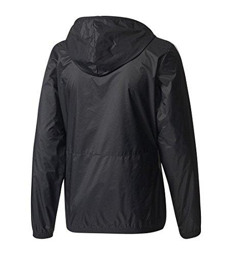 adidas Men's Essentials Wind Jacket, Black/Black/White, 3X-Large by adidas (Image #1)
