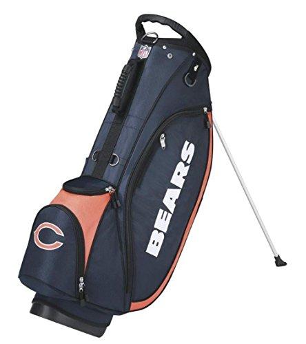 Cart Golf Bag Bears Chicago - Wilson NFL Chicago Bears Carry Golf Bag, Navy/Orange, One Size