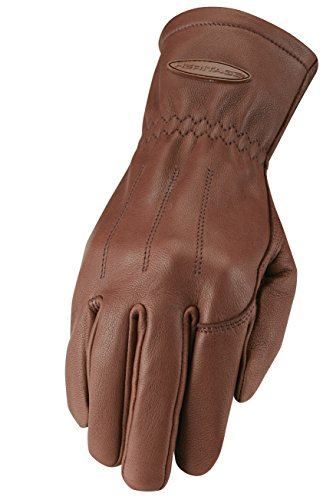 Heritage Carriage Driving Glove Saddle Brown - 9