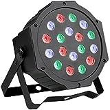 Ccbetter - Luz de escenario, DMX512, LED, 24 W, color negro