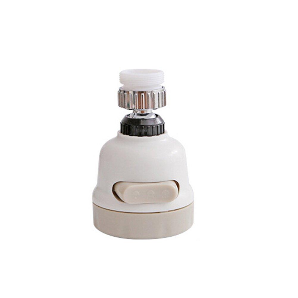 BESTONZON - Regulador de agua giratorio de 360 grados para ducha, grifo de cocina