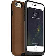 mophie charge force case - Made for iPhone 7 - Works with Qi and Other Wireless Charge Systems - Not a Battery Case - Tan