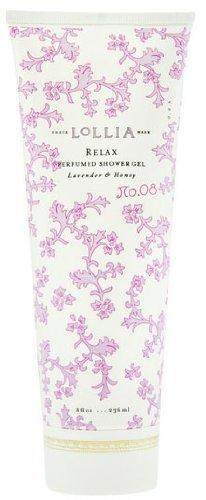 LoLLIA RELAX No. 08 Perfumed Shower Gel Lavender & Honey 8 fl oz/236 ml