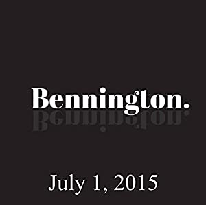 Bennington, July 01, 2015 Radio/TV Program