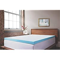 ViscoSoft 3 Inch Response Gel Memory Foam Queen Mattress Topper – Amazing Cloud-Like Comfort and Robust Support for Side, Back, Stomach Sleepers – Gel Infused Temperature Regulation – Made in USA