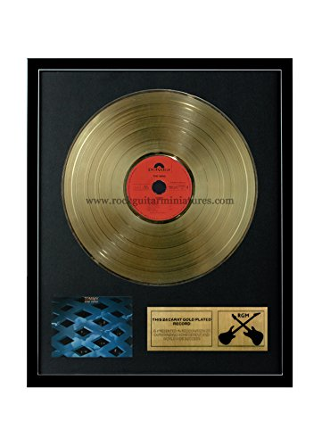 RGM1000 The Who Tommy Gold Disc 24K Plated LP 12