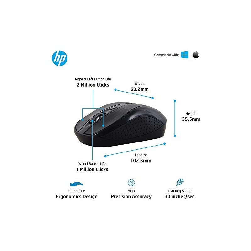 Best HP Multimedia Ultra Slim Wireless Keyboard and Mouse Combo Online India