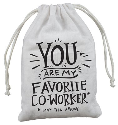 Cute Gift Bag Co worker Drawstring product image