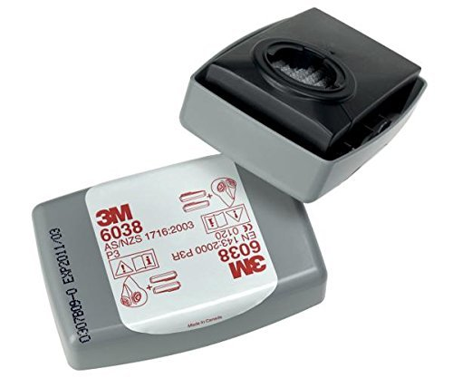 3M 6038 Lot de 20 filtres P3R
