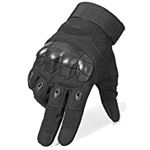 Fuyuanda Full Finger Tactical Glove Touch Screen Gloves Cycling Motorcycle Climbing Glove for Military Airsoft Paintball Riding
