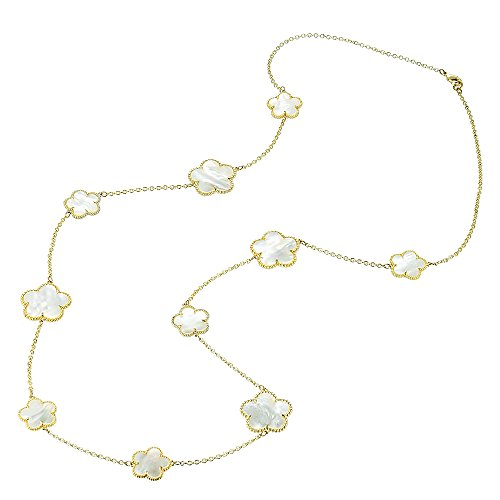BIJOUX BOBBI [Gift Packaging Mother of Pearl Mother of Pearl Collections - Necklace - A3518GM-36