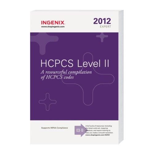 HCPCS Level II Expert 2012, Compact by Ingenix