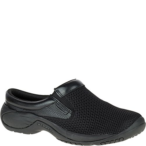 Slip Clogs Athletic (Merrell Men's Encore Bypass Slip-On Shoe,Black,15 M US)