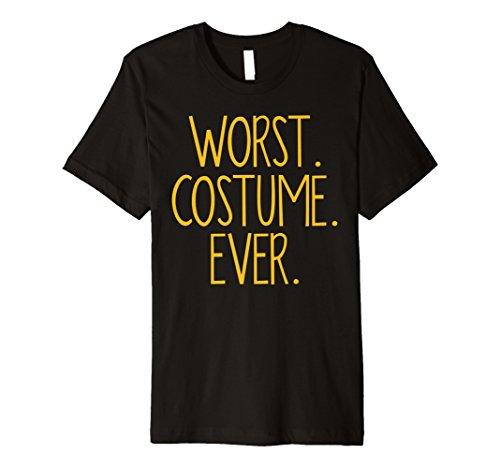WORST COSTUME EVER Shirt Funny Halloween Tee Shirt