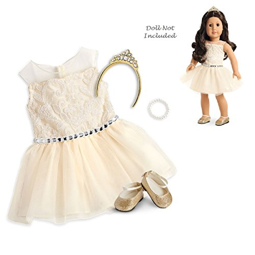 "American Girl Truly Me Celebration Dress for 18"" Dolls TM (Doll Not Included)"