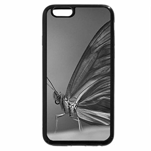 iPhone 6S Case, iPhone 6 Case (Black & White) - Pure gold