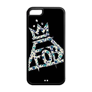 Danny Store Hard Rubber Protection Cover Case for iPhone 5C - Fall Out Boy