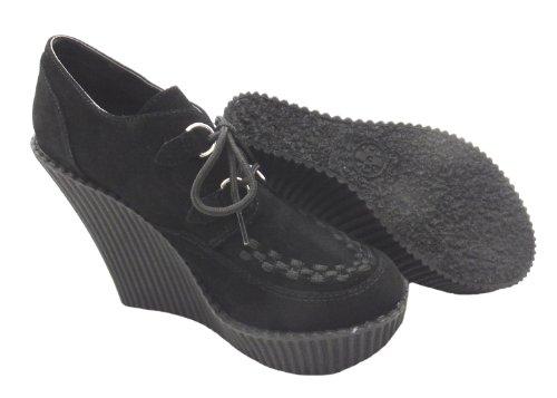 T.u. k.-A8375l femmes bottes chaussures en daim