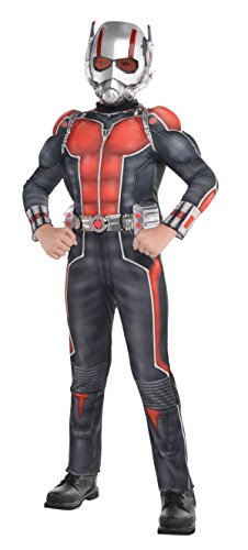 Marvel Ant Man Costume (Boys Child Marvel Deluxe Ant Man Costume Size Medium)