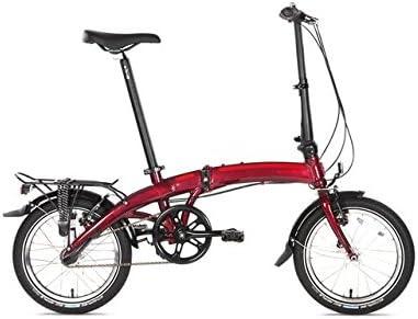 Dahon Curve D3 Bicicleta Plegable, Curve D3, Rojo: Amazon.es ...