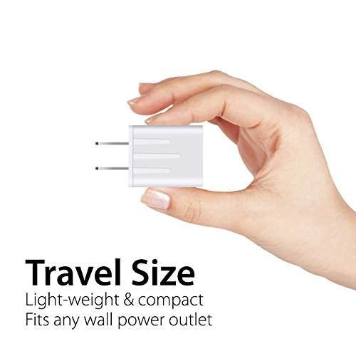 Spater 5-Feet iPhone Cable and a USB Travel Wall Charger for iPhone X, iPhone 8, iPhone 7/ 7s / 6 / 6s 5 / 5s, iPad Mini, iPod Touch, iPods by Spater (Image #7)