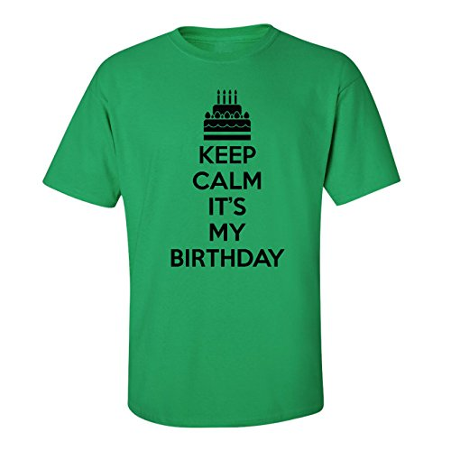 Mashed Clothing Keep Calm It's My Birthday Adult