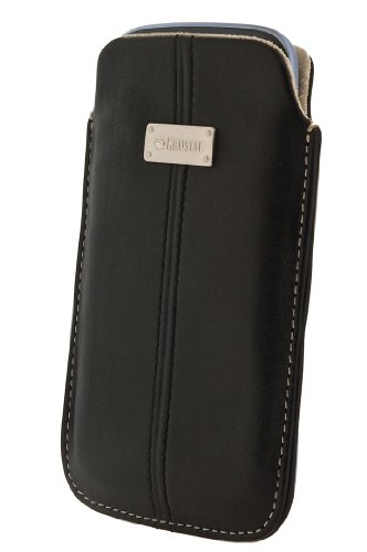 Krusell Luna 3XL Leather Universal Phone Case for iPhone SE/5s/5, 4s/4, and Smartphones w/ 4.3/4.88-in Screens