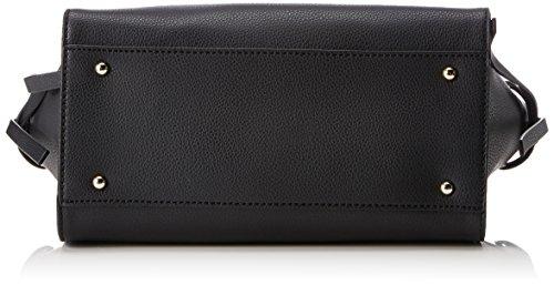Faux Women's Satchel GUESS Digital Black Leather RE7df1wx
