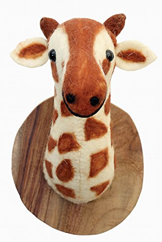 giraffe head mount - 3