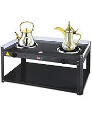 سخان كهربائي لأكواب الشاي والقهوة، لون اسود - DLC-5535