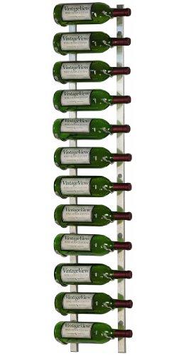 nickel wall wine rack - 1