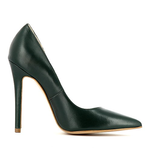 Shoes donna Lisa scuro tacco col Scarpe Verde Evita P7wXX