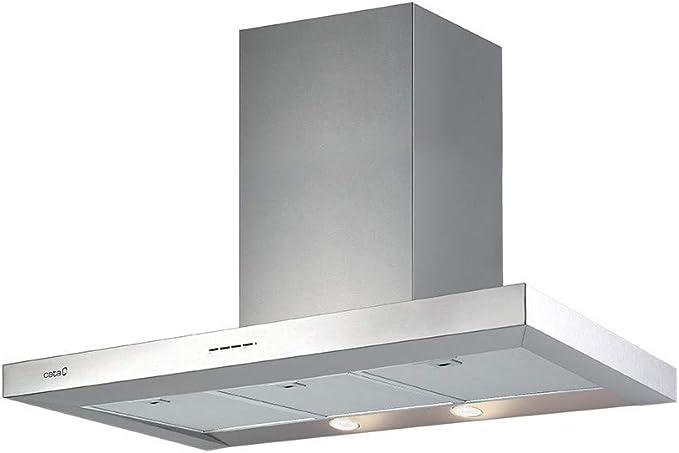 CATA SYGMA X 9000 850 m³/h De pared Acero inoxidable A - Campana (850 m³/h, Canalizado/Recirculación, A, A, B, 65 dB): Amazon.es: Grandes electrodomésticos