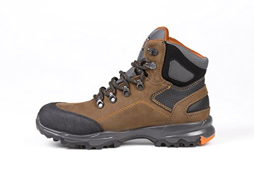 marron Saturne SRC sécurité Cap Risk Toe No SRC S3 Steel CqRvwU