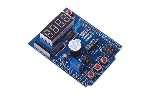 Price comparison product image SMAKN Multi-functional Expansion Board Sensor Shield Module for Arduino LENARDO Mega 2560