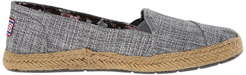 Bobs Van Skechers Dames Flexpadrille Slip-on Plat Grijs