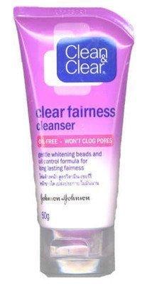 Clean & Clear Fairness Cleanser Whitening Vitamin C 50g