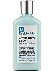 Duke Cannon After-Shave Balm - Ice Cold, 6 ounce