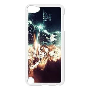 ipod 5 case , Sword Art Online SAO Kirito & Asuna Cell phone case White for ipod 5 - LLKK0802782