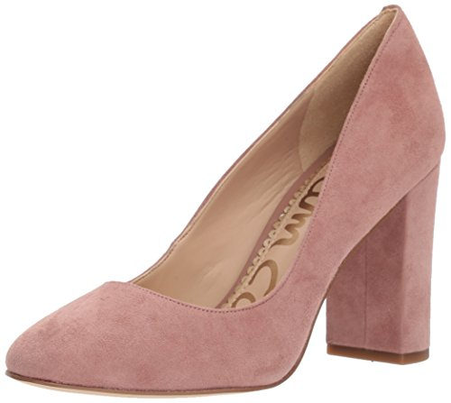 (Sam Edelman Women's Stillson Pump, Dusty Rose Suede, 9 Medium)